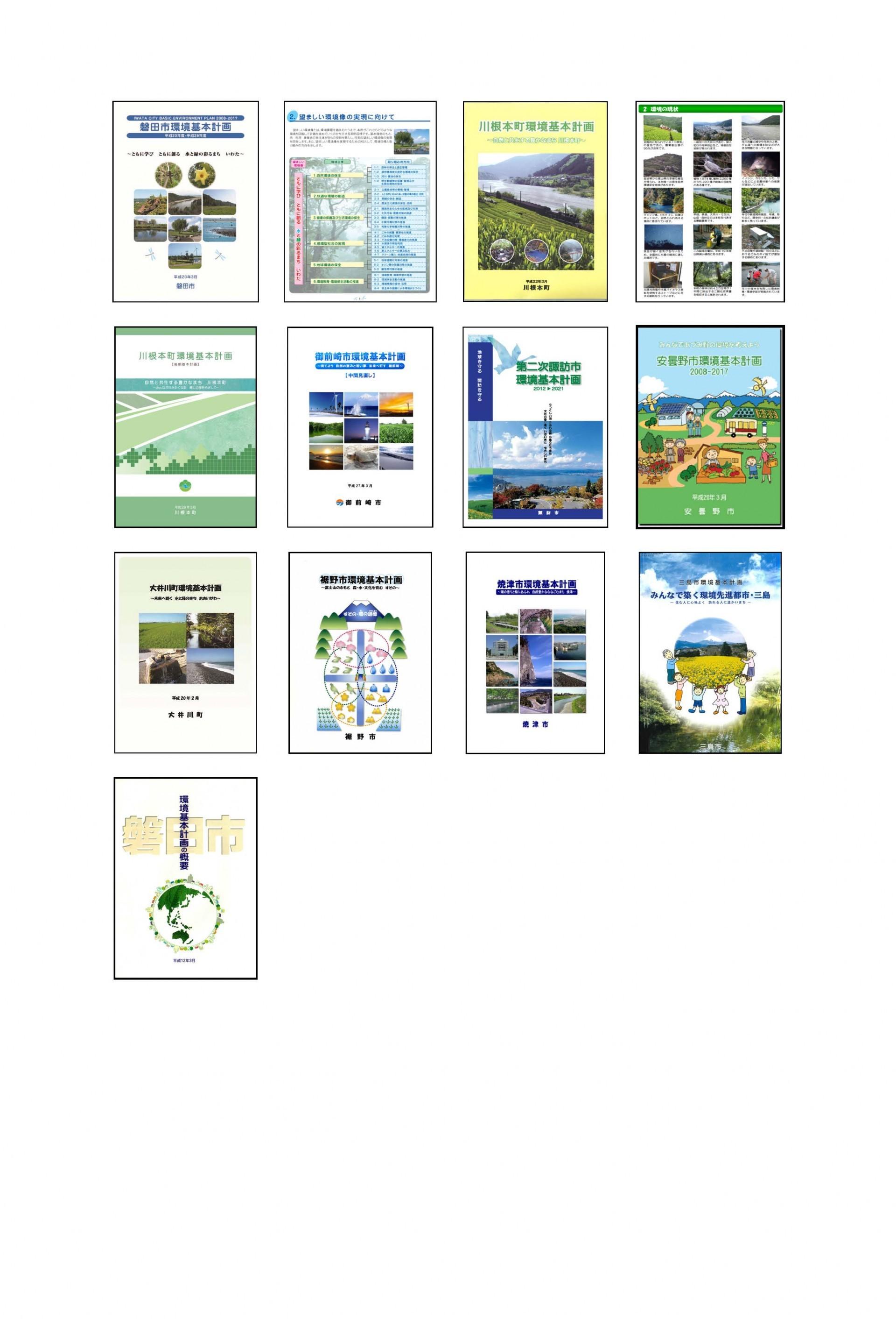 成果品事例2(環境基本計画)